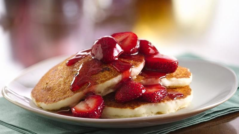 Gluten-Free Cheesecake Pancakes recipe from Betty Crocker