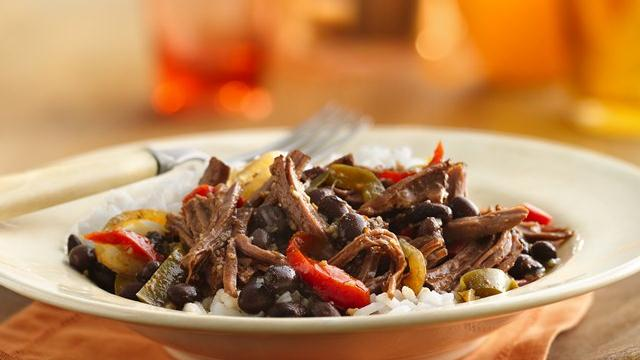 Slow Cooker Cuban Flank Steak Recipe