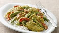 Chicken Curry with Sugar Snap Peas Recipe