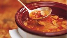 Easy Bean and Kielbasa Soup Recipe