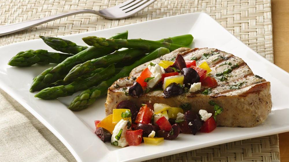 Mediterranean Tuna Steaks