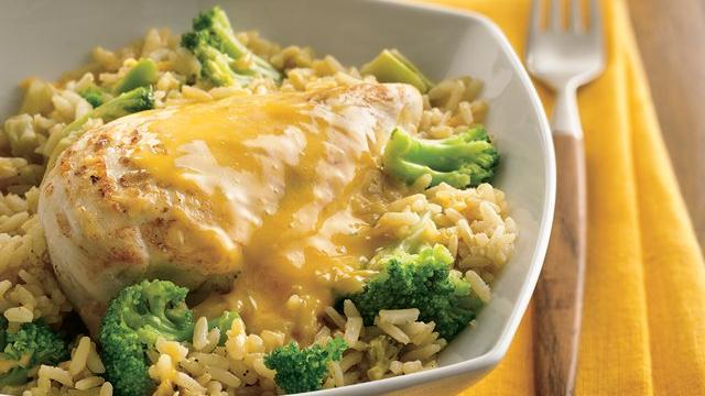 Skillet Chicken Divan
