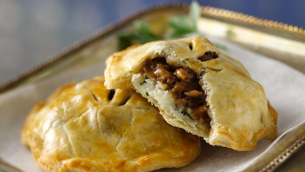 Bangers and Mash Hand Pies recipe from Pillsbury.com