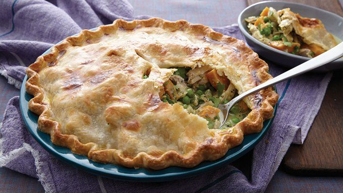 Curried Chicken Pot Pie recipe - from Tablespoon!