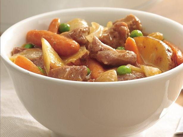 Slow Cooker Harvest Pork Stew