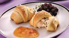 Crab-filled Crescent Snacks Recipe