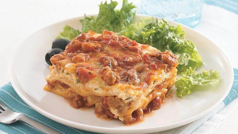 Lazy-Day Overnight Lasagna