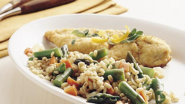 Barley and Asparagus