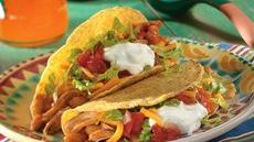 Chicken-Bean Tacos Recipe