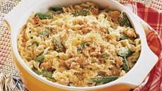 Salmon Alfredo Casserole Recipe
