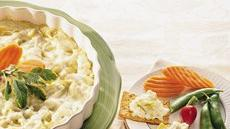 Lite Cheesy Artichoke Dip Recipe