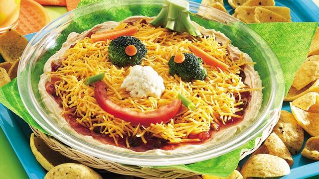 Funny Face Taco Dip