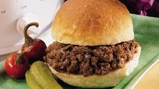 Easy Slow-Cooked Bbq Beef Sandwiches Recipe