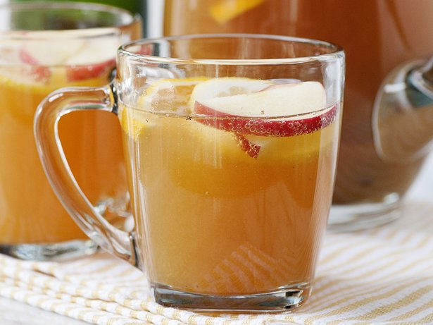 Slow Cooker Apple Cider Sparklers