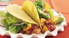 Peachy Chipotle-Pork Tacos Recipe