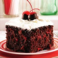 Decadent Chocolate - Cherry Cake
