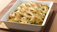 Broccoli-Cheese Breadstick Bake Recipe