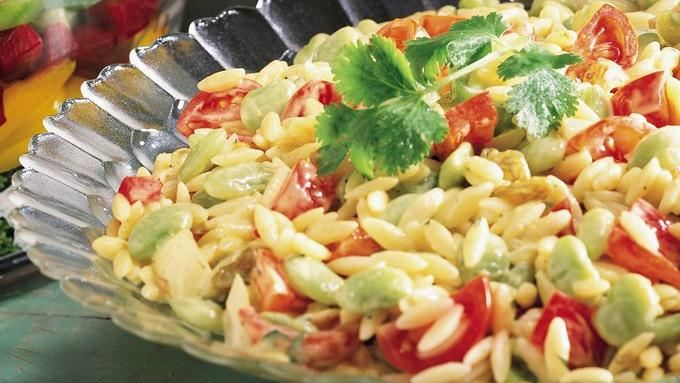 Curried Orzo and Vegetable Salad recipe - from Tablespoon!