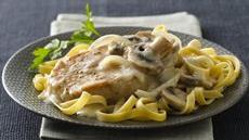 Pork Chops in Savory Mushroom Cream Sauce Recipe
