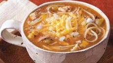 Enchilada Pasta Soup Recipe