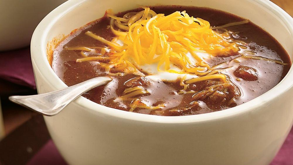 Beef and Beer Chili recipe from Pillsbury.com