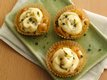 Caramelized Onion-Stuffed Potato Cupcakes