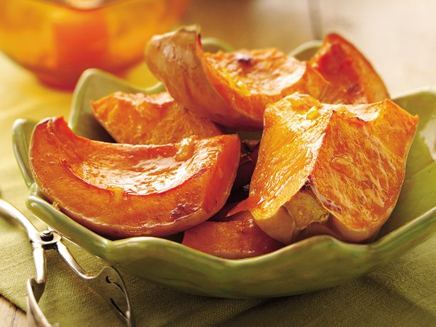 Butternut Squash with Orange-Butter Glaze