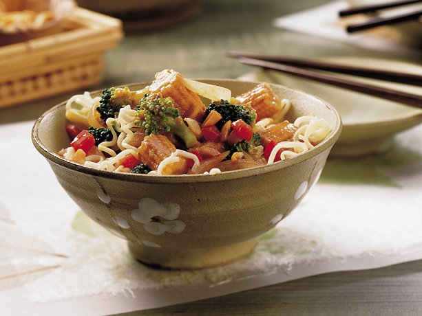 Image of Asian Noodle Bowl, Betty Crocker