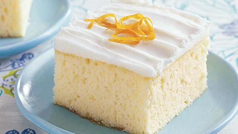 Pineapple Mimosa Cake