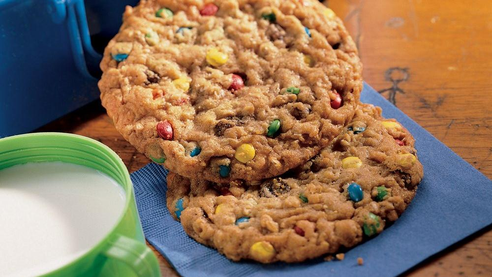 Giant Confetti Oatmeal Cookies