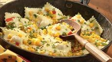Ravioli With Corn And Cilantro Recipe
