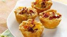 Mini Bacon-Cheese Cups Recipe