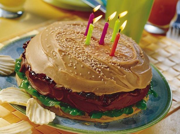 Big Burger Cake