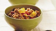 Turkey and Brown Rice Chili Recipe