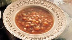 Vegetarian Navy Bean Soup Recipe