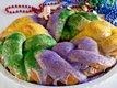 Quick Mardi Gras King Cake
