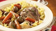 Slow Cooker Chicken in Red Wine (Cooking for Two) Recipe