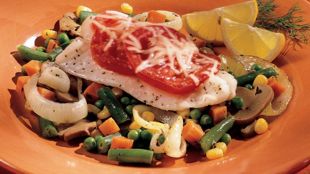 Italian-Style Fish and Vegetables