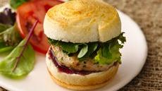Herb Chicken Sliders with Raspberry Mustard Recipe