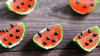 Watermelon Margarita Jelly Shots