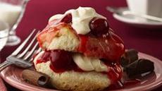Cherry Valentine Shortcakes (club store pack) Recipe