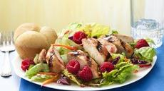 Grilled Chicken Salad with Raspberries Recipe