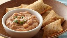 Salsa Bean Dip and Pizza Rolls Recipe