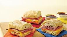 Two-Cheese and Ham French Loaf Recipe
