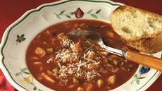 Chicken-Tomato-Basil Soup Recipe