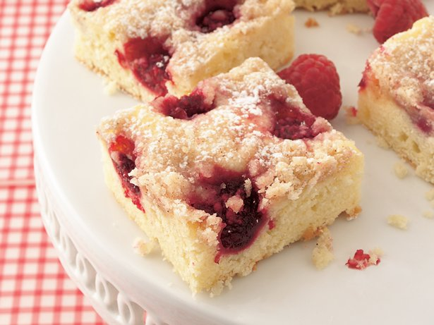 Raspberry Cake Bars