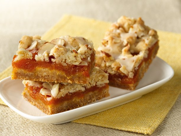 Image of Apricot Bars With Cardamom-butter Glaze, Betty Crocker