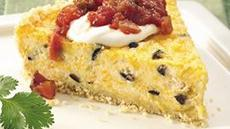 Cheesy Fiesta Quiche Recipe