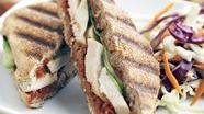 Healthified Mediterranean Chicken Panini