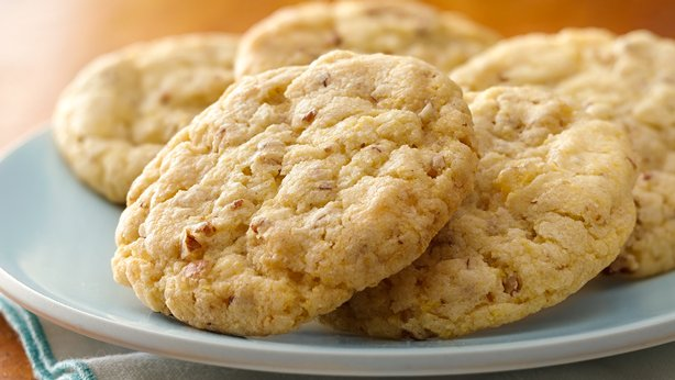 Triple Ginger-Lemon-Cornmeal Cookies